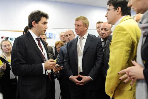 Открытие наноцентра Техноспарк в Троицке