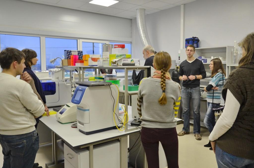 Семинар по молекулярной биологии прошел в наноцентре «Техноспарк»