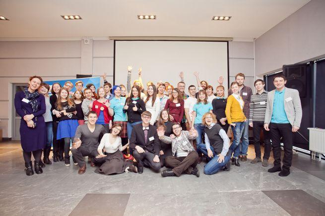 Мастерские инноваций собрали активистов на Зимний слет