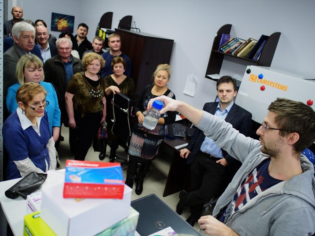 Наноцентр «Техноспарк» посетил совет депутатов Троицка