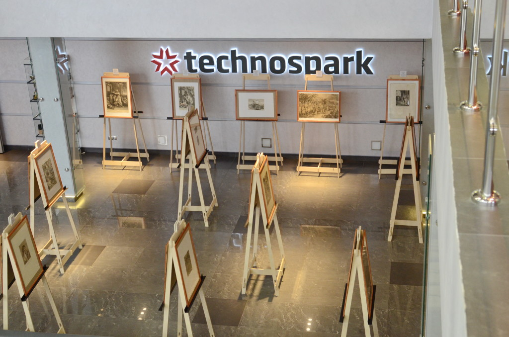 Оригиналы гравюр Рембрандта, Дюрера, Шагала в Наноцентре «Техноспарк»
