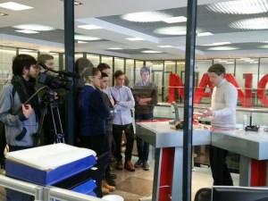 Экскурсия для школьников из Троицка в НЦ «Техноспарк»