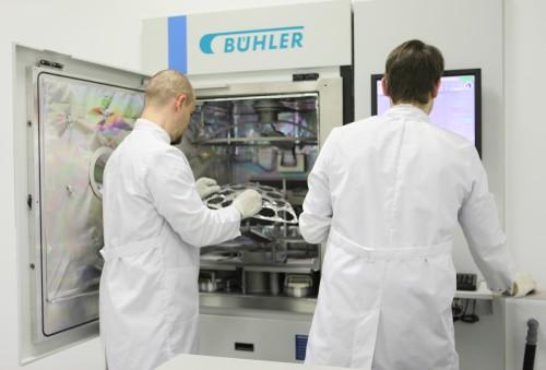 Шоу-рум компании «Бюлер» получил новые возможности нанесения тонкопленочных покрытий