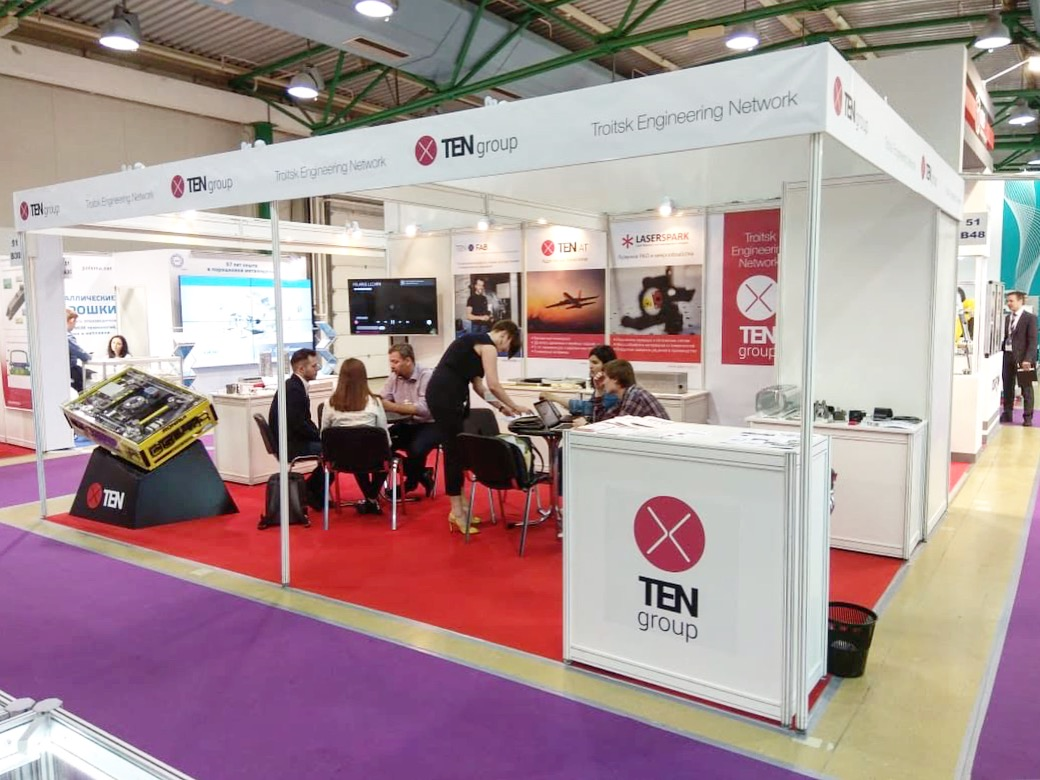 TechnoSpark companies are taking part in the largest Russian metalworking exhibition