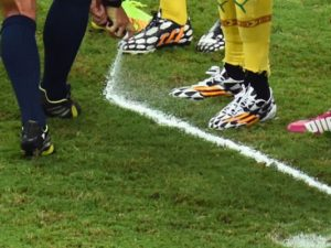 TEN+1 football spray broadcast on Match TV