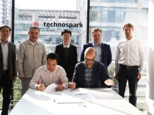 TechnoSpark enters into cooperation with Hisign to develop a new generation of the fingerprint scanner