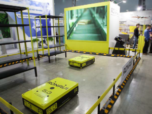 Ronavi Logistic Systems Company Tames a Hive of Warehouse Robots Using a SAP Control System
