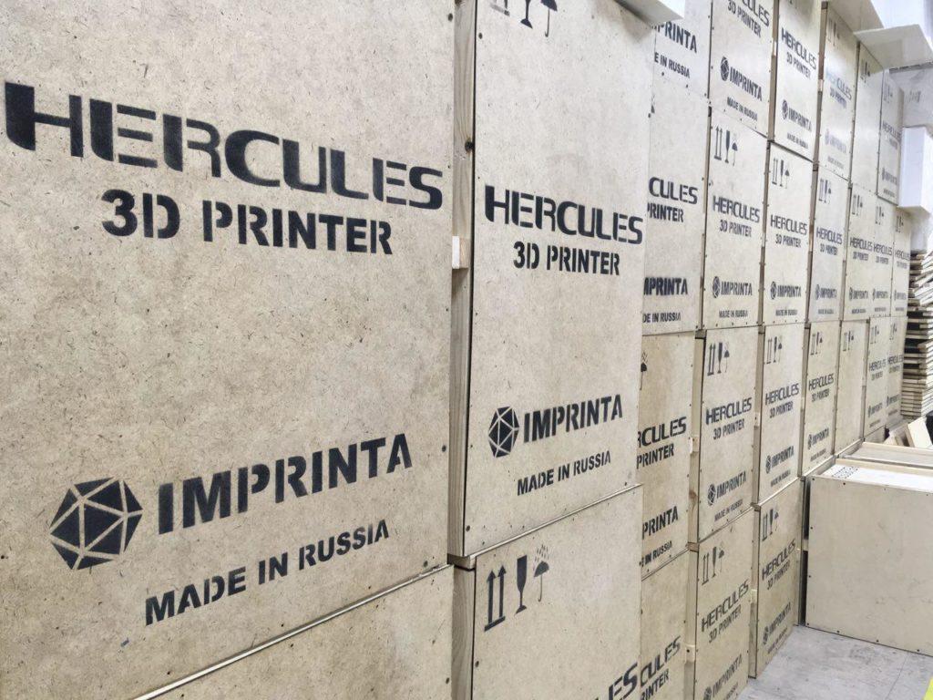 TEN Fab поставил первую партию произведенных по контракту 3D-принтеров