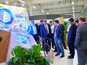Проекты наноцентра «Техноспарк» на выставке Открытые Инновации — 2014