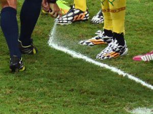 Футбольный спрей TEN+1 в эфире телеканала «Матч ТВ»