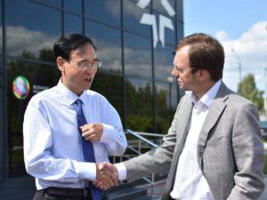Китайская делегация из г.Синьсян в НЦ «ТехноСпарк»