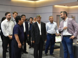 Chinese delegation from Changchun in TechnoSpark Nano-Center