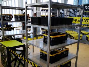 Российский производитель начал серийный выпуск роботов для работы в логистических центрах